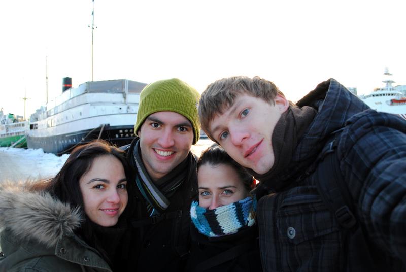 Anabel, Moi, Diana et Jakub